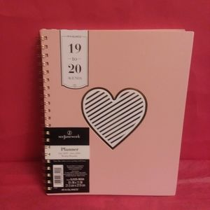 Pink At A Glance Planner